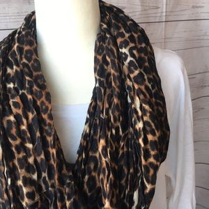 Express Leopard Scarf